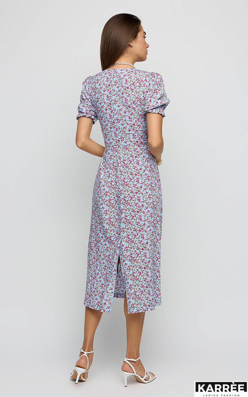 Платье Хайди, Голубой - фото 3