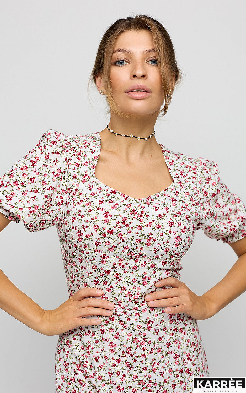 Платье Хайди, Белый - фото 2