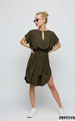 Платье Блэр, Хаки - фото 1