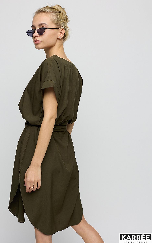 Платье Блэр, Хаки - фото 3