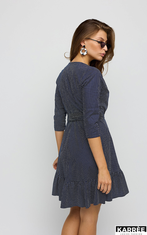 Платье Ирма, Темно-синий - фото 5