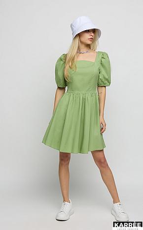 Платье Карлот, Оливковый - фото 1