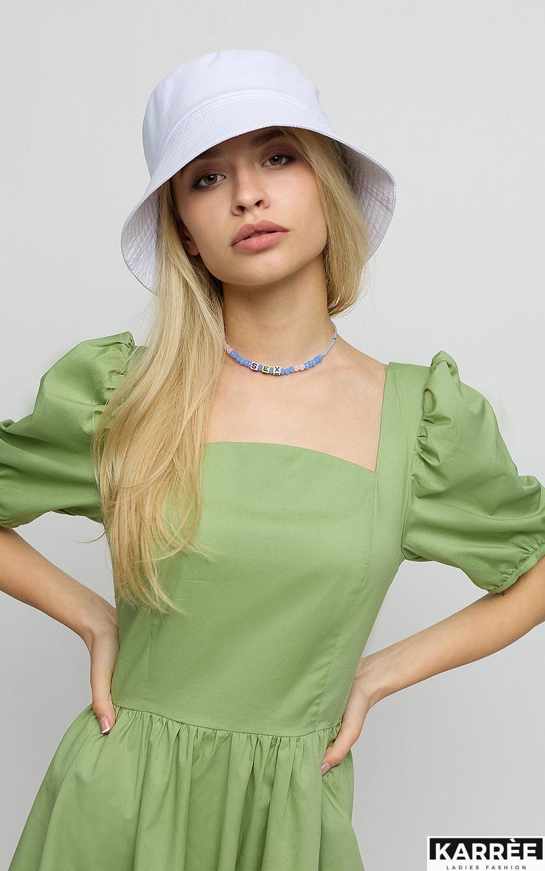 Платье Карлот, Оливковый - фото 3