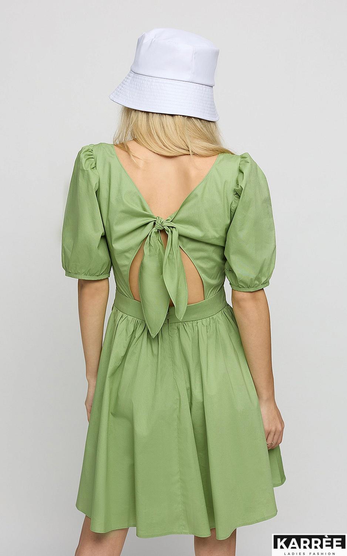 Платье Карлот, Оливковый - фото 4