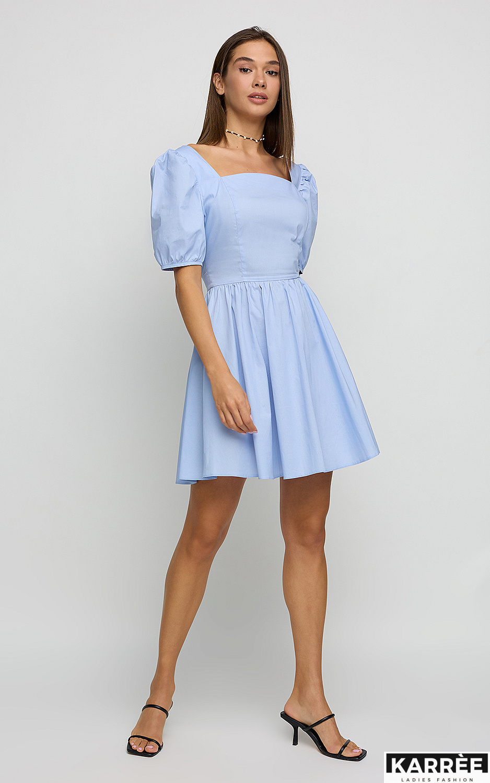 Платье Карлот, Голубой - фото 1