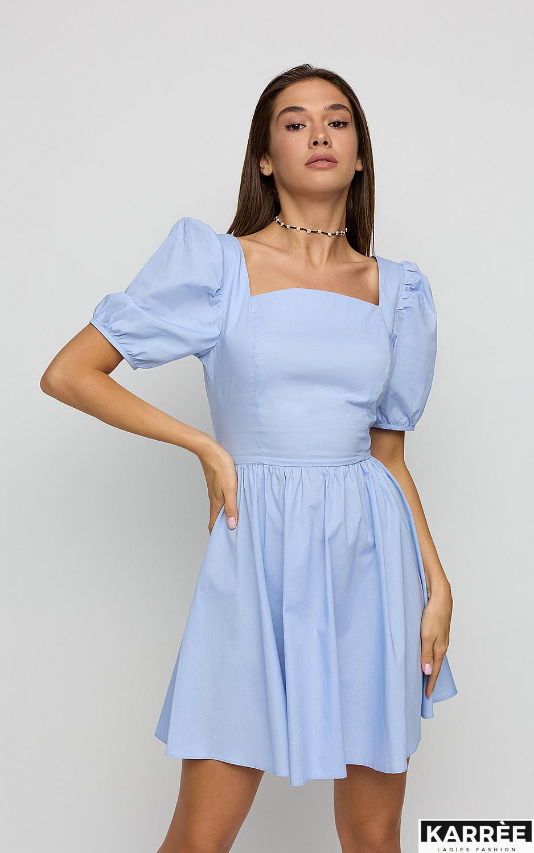 Платье Карлот, Голубой - фото 3