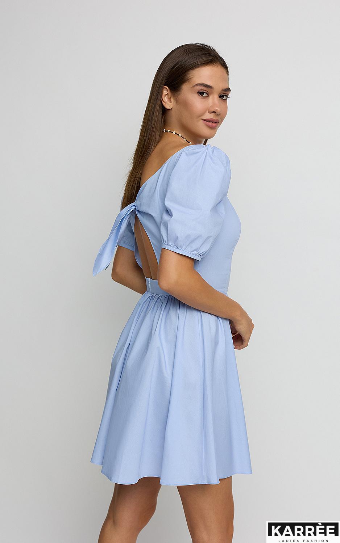 Платье Карлот, Голубой - фото 4