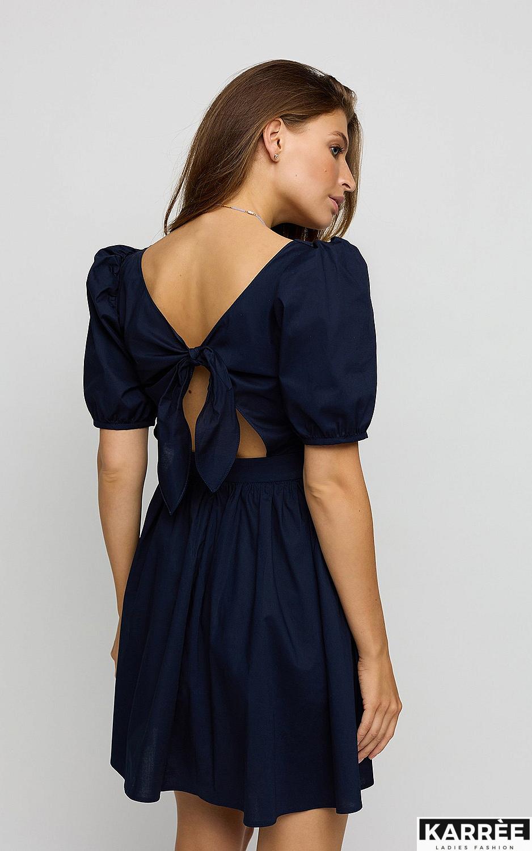 Платье Карлот, Темно-синий - фото 3