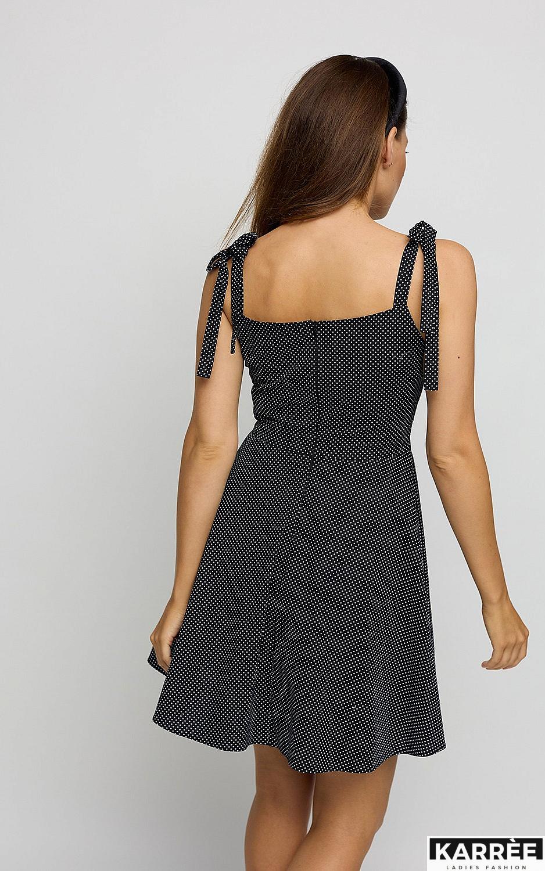 Платье Леона, Черный - фото 3