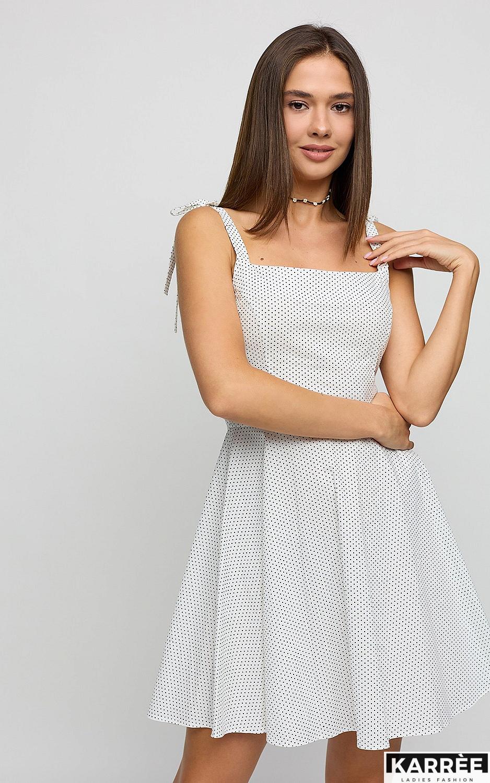 Платье Леона, Белый
