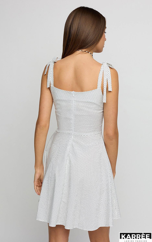 Платье Леона, Белый - фото 4