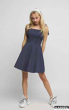 Платье Леона, Темно-синий - фото 1