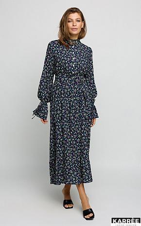 Платье Лулу, Темно-синий - фото 1