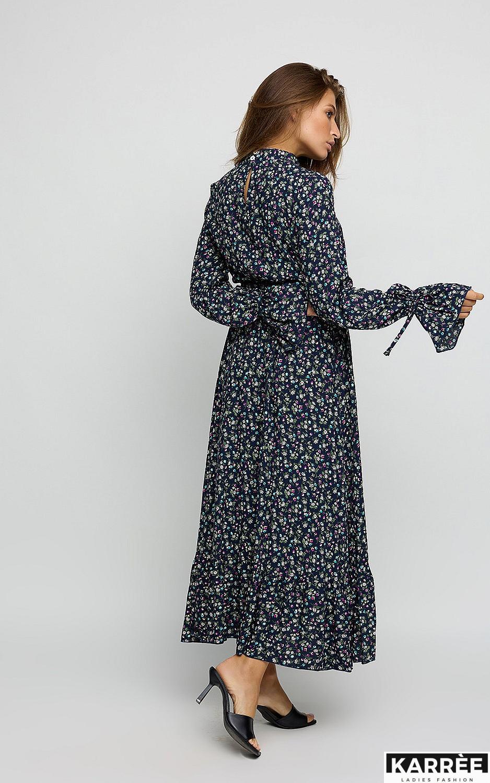 Платье Лулу, Темно-синий - фото 3