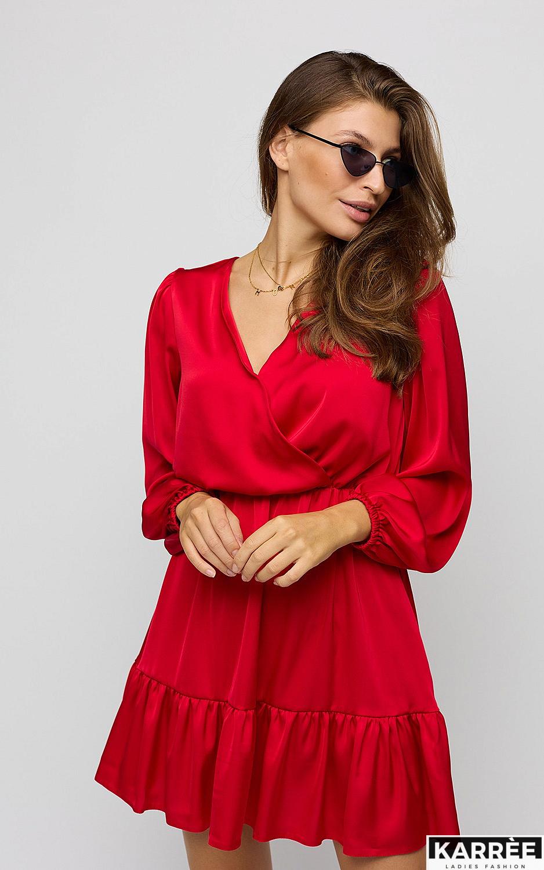 Платье Тилл, Красный