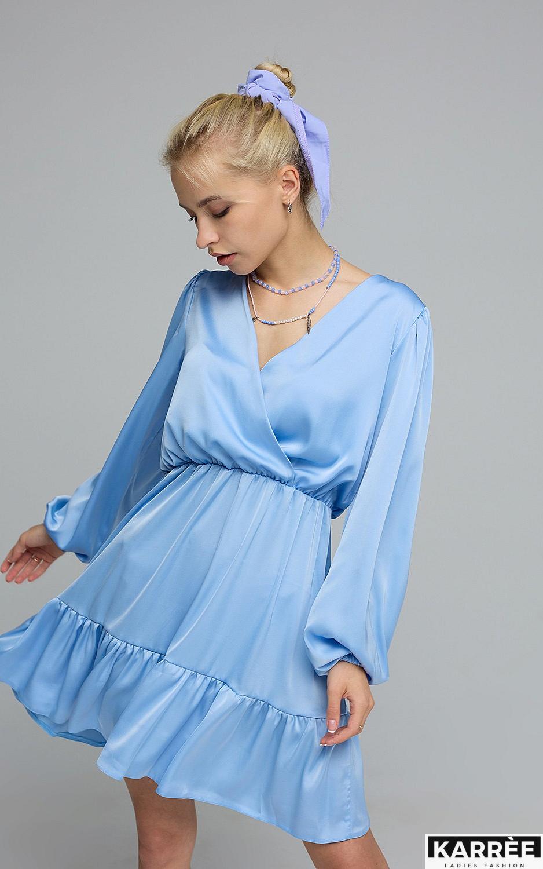 Платье Тилл, Голубой