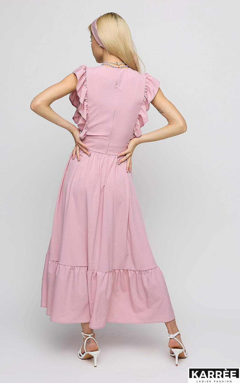 Платье Кэтрин, Пудровый - фото 4