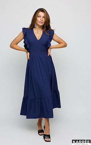 Платье Кэтрин, Темно-синий - фото 1