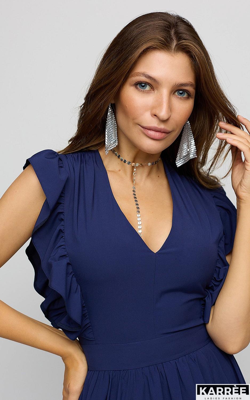 Платье Кэтрин, Темно-синий - фото 2