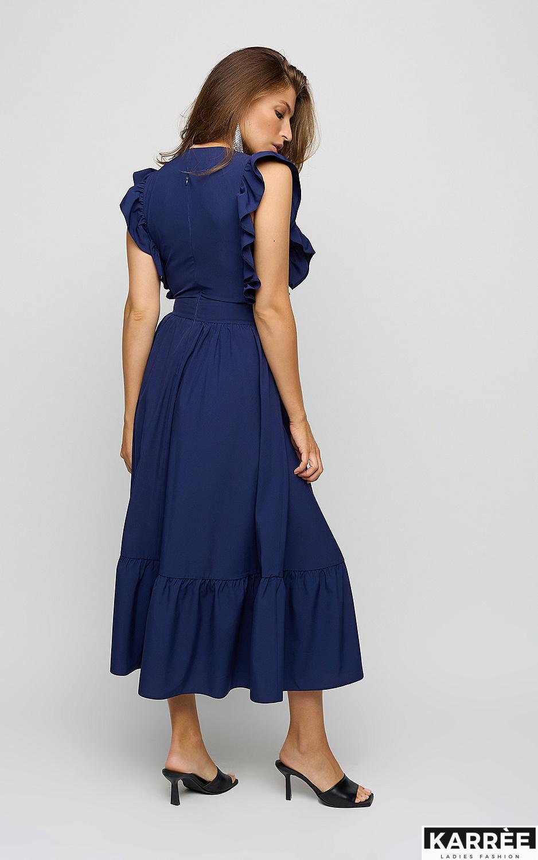 Платье Кэтрин, Темно-синий - фото 3