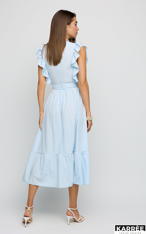Платье Кэтрин, Голубой - фото 3