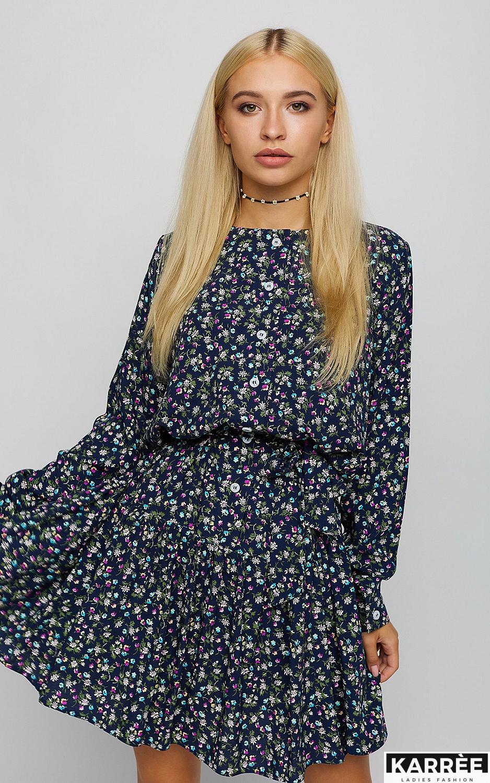 Платье Фрида, Темно-синий
