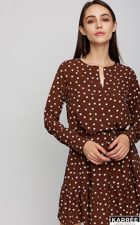 Платье Белла, Шоколадный
