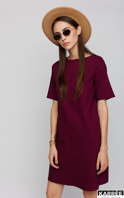 Платье Олимпия, Бордо - фото 2