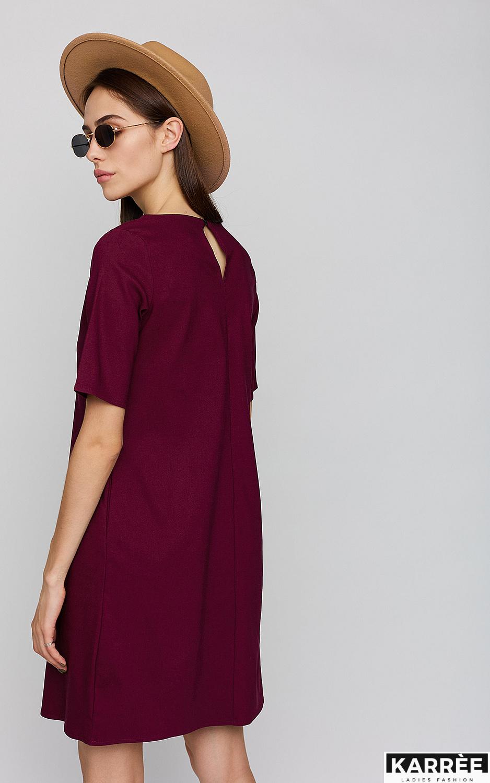 Платье Олимпия, Бордо - фото 3