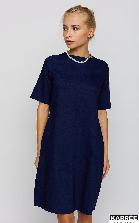 Платье Олимпия, Темно-синий