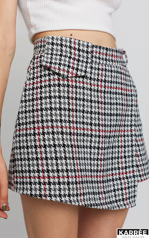 Юбка-шорты Наоми, Белый - фото 3