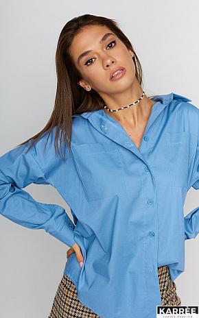 Рубашка Лея, Голубой - фото 1