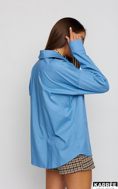 Рубашка Лея, Голубой - фото 3