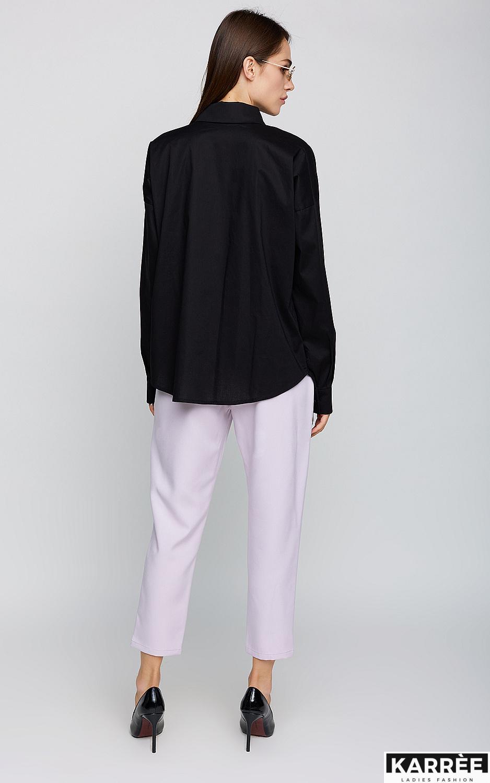 Рубашка Лея, Черный - фото 3