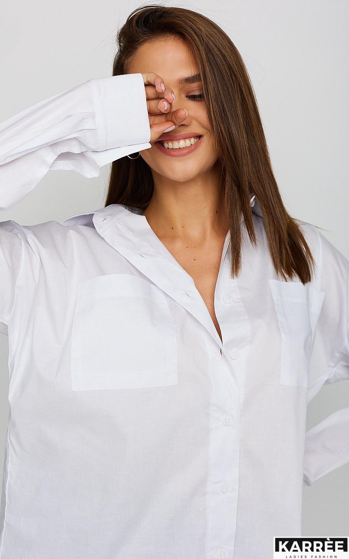 Рубашка Лея, Белый - фото 3