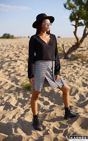 Блуза Джи, Черный - фото 1
