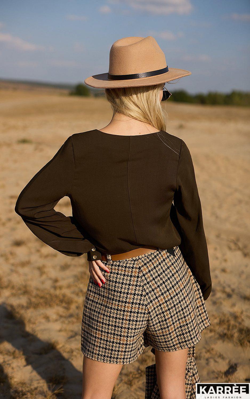 Блуза Джи, Хаки - фото 3