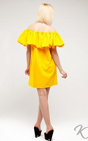 Платье Кимми, Желтый - фото 3