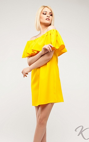 Платье Кимми, Желтый - фото 4