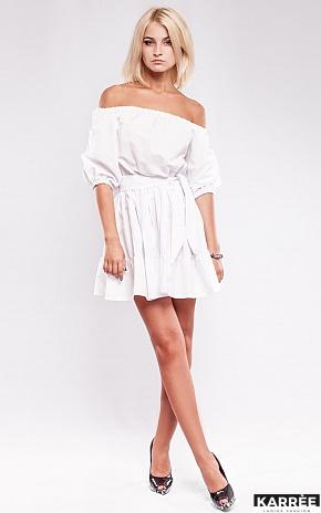 Платье Анже, Белый - фото 3