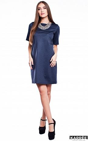 Платье Кэрри, Темно-синий - фото 1