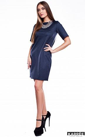Платье Кэрри, Темно-синий - фото 3