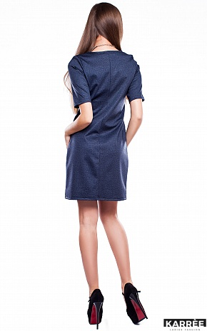 Платье Кэрри, Темно-синий - фото 4