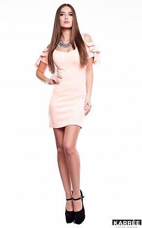 Платье Алисия, Персик - фото 1
