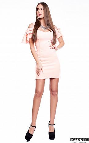 Платье Алисия, Персик - фото 2