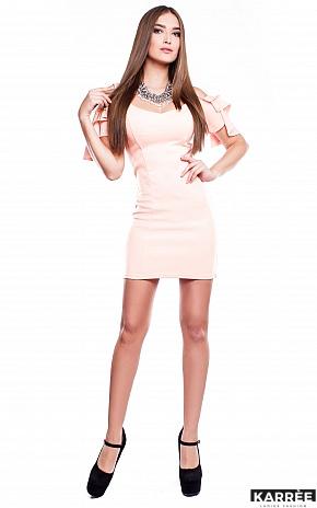 Платье Алисия, Персик - фото 3
