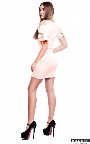 Платье Алисия, Персик - фото 4