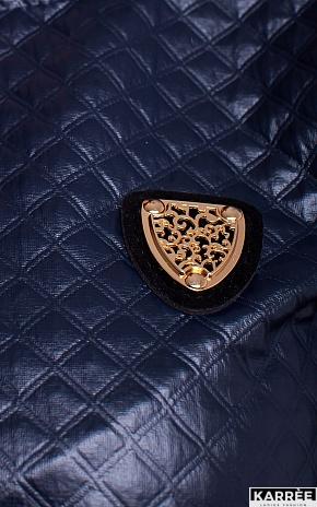 Блуза Викки, Темно-синий - фото 4