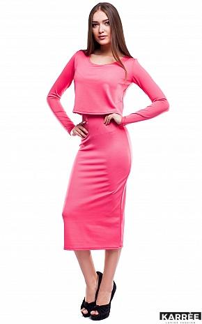 Платье Кристи, Коралл - фото 2