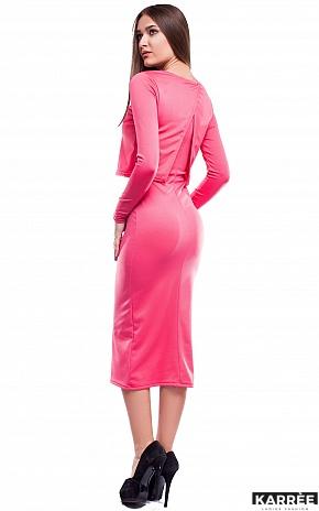 Платье Кристи, Коралл - фото 3